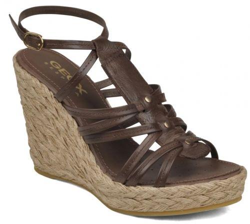 nueva especiales seleccione para el más nuevo más nuevo mejor calificado Women`s platform sandals GEOX ALICANTE D01V9C 00046 ...