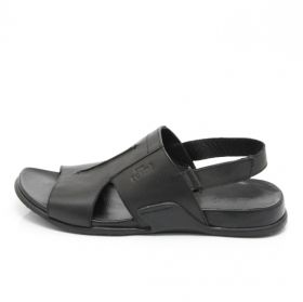 Men's leather sandals ARA 36702 02F (black)