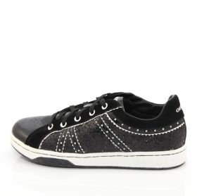 Breeathable sneakers GEOX J8300A 0EW02 C0127 (patent leather)
