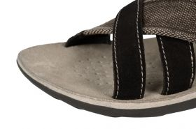 Men's flip flops GEOX U3219P 02210 C6000 (brown)