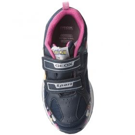 Light Up Shoes GEOX J8206D 014BU C4268