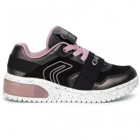 Light Up Shoes GEOX J928DA 0NF6K C0618 - black/pink